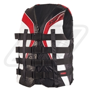 Gilet Jobe 2015 Nylon Progress 4 Buckle Rouge