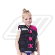 Gilet enfant Jobe Nylon Progress 30-40 Kgs Pink