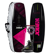 Pack Wakeboard Jobe Vanity 131 + Chausses Unit 3/6