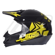 Casque Jobe Ruthless Homologué (2015) Yellow