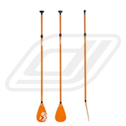 Rame télescopique Jobe pour Stand Up Paddle Fiberglass Orange