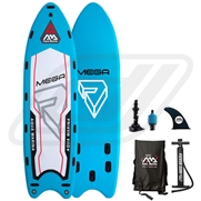 Pack Stand-Up Paddle gonflable Aqua Marina Mega 18'1 (6 places)