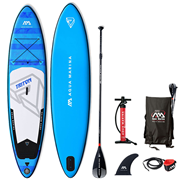 Pack Stand-Up Paddle gonflable Aqua Marina Triton 11.2 - 2019