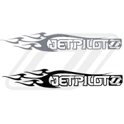 Sticker JETPILOT Flame 43cm