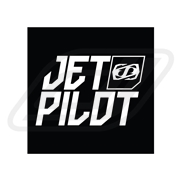 Sticker Jetpilot Icon Noir carré 7.5cm