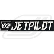 Sticker Jetpilot Corporate Noir 19.5cm