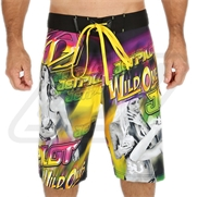 Boardshort Jetpilot Wild Ones Pink/Yellow