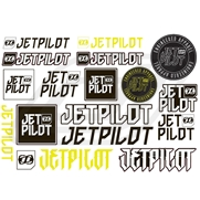 Stickers JetPilot Sheet A4 Mixed