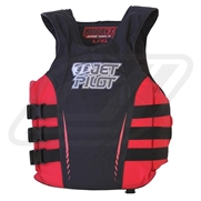 Gilet JetPilot Nylon Matrix Black/Red
