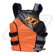 Gilet Jetpilot Matrix 2 Race camo - Orange Fluo / Black