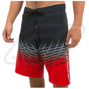 Boardshort JetPilot Radar 2 en 1 Black/Red