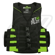 Gilet JetPilot Strike Black / Green