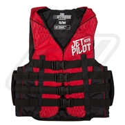 Gilet JetPilot 2017 Nylon Strike Red