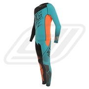 Combinaison Jetpilot Matrix 3 John & Jacket Teal/ Orange (2017)