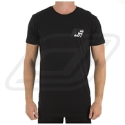 T-shirt Jetpilot Stamped Black