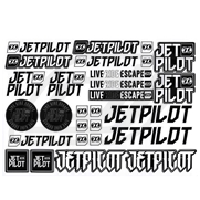 Stickers JetPilot Sheet A4 Mixed (2017)