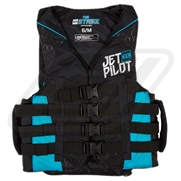 Gilet JetPilot Nylon Strike Black / Blue