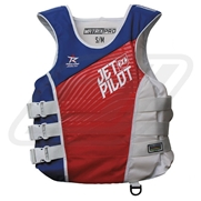 Gilet Jetpilot Matrix Pro Nylon Red/ Blue