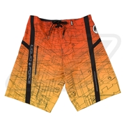 Boardshort Liquid Force City Grid Orange