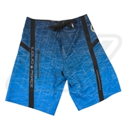 Boardshort Liquid Force City Grid Bleu