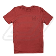 T-shirt Liquid Force Crosshair Red