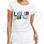 T-shirt Liquid Force Ladies New Wave
