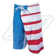 Boardshort Liquid Force Main Even Blue
