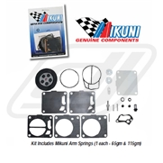 Kit reconditionnement carburateur origine mikuni pour SBN 38/44/46 et 38i/40i series