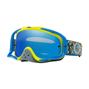 Masque Oakley Crowbar Camo Vine Night Bleu Noir Ice Iridium