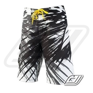 Boardshort Slippery Solar Black / Grey