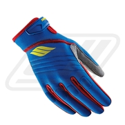 Gants Slippery Circuit Lime/Blue