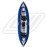 Kayak gonflable Aquaglide Chinnok Tandem XP 3 places
